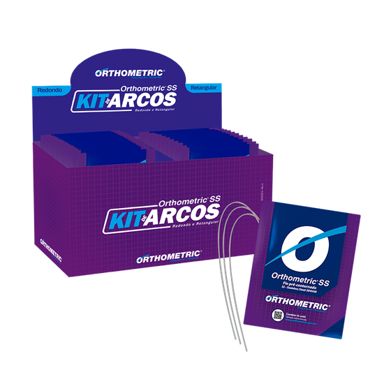 Kit Arco de Aço Orthometric SS - Redondo/Retangular