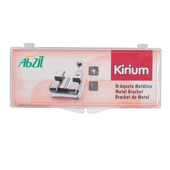 Kit Bráquete Metálico Kirium MBT 0,022 - 11 Casos