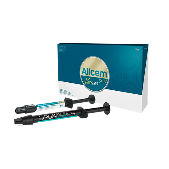 Kit Cimento Allcem Veneer APS - Brinde Resina Opus Bulk Fill A2