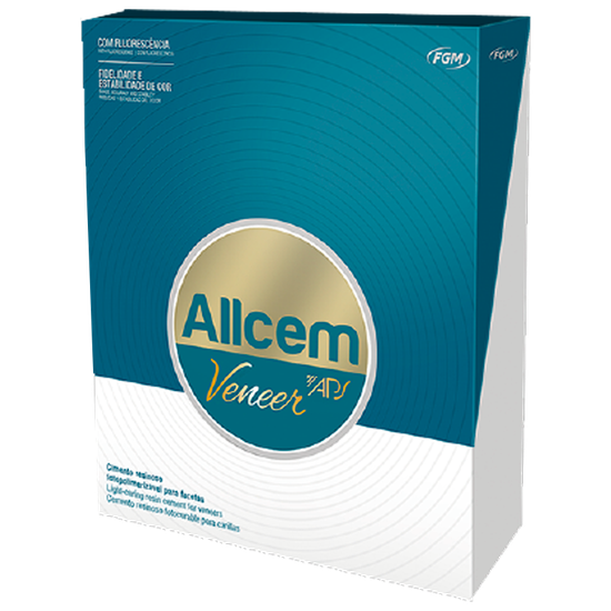 Kit Cimento Allcem Veneer Aps Mini