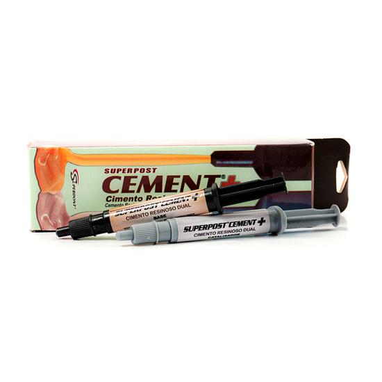 Kit Cimento Resinoso Dual Superpost Cement+ 5g