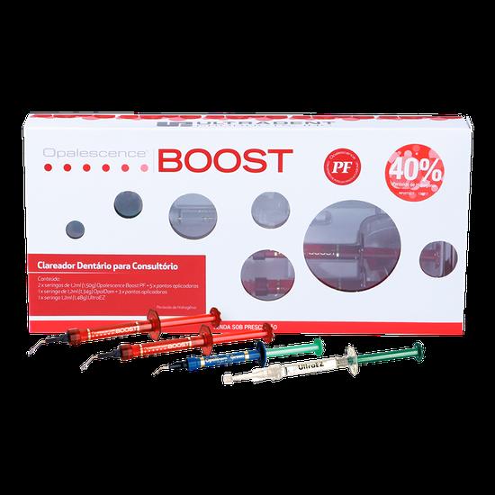Kit Clareador Opalescence Boost PF 40% + Ultra Ez