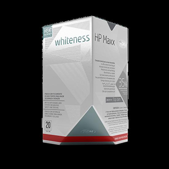 Kit Clareador Whiteness Hp Maxx + 3 Seringas White Class 6%