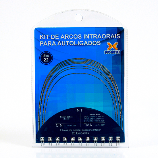 Kit de Arcos Intraorais p/ Autoligado - 50.14.901