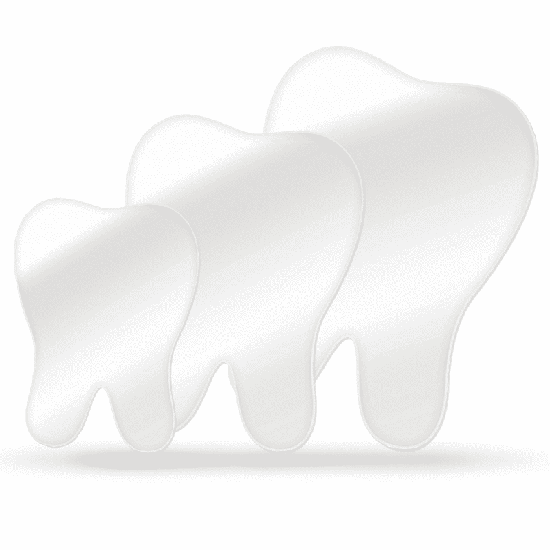 Kit Espelhos Decorativos Reflect Tooth