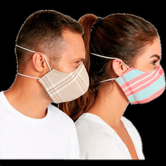 Kit Máscaras em Tecido - Sortido