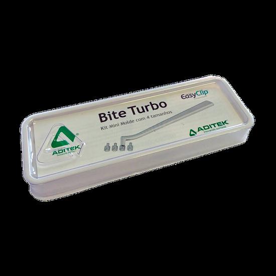 Kit Mini Molde Bite Turbo c/ 4 Tamanhos