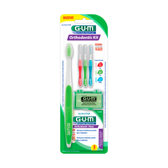 ab1a678d0 Kit Ortodôntico p  Higiene Bucal - GUM - GUM10921A