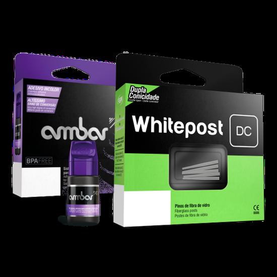 Pino de Fibra de Vidro Whitepost DC Intro + Ambar APS