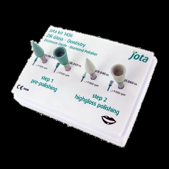 Kit Polidores Diamantados Especiais de Zircônia - CA - 2 Fases