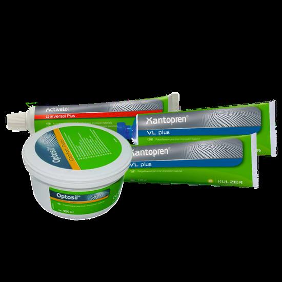 Kit Silicone de Condensação Optosil/Xantopren - Brinde Xantopren