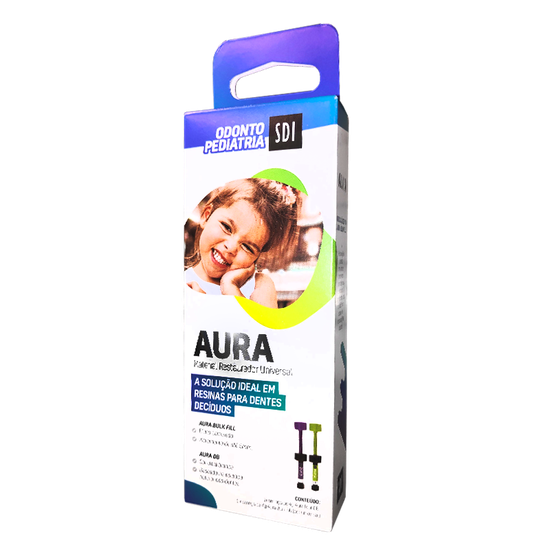 Kit Resina Aura p/ Odontopediatria