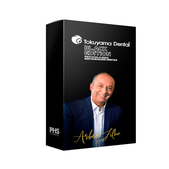 Kit Resina Black Edition Aesthetic System - Dr. Arbex Filho