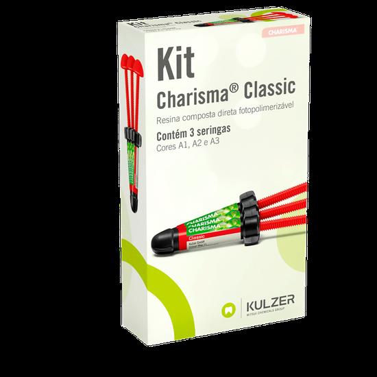 Kit Resina Charisma Classic - 3 Seringas