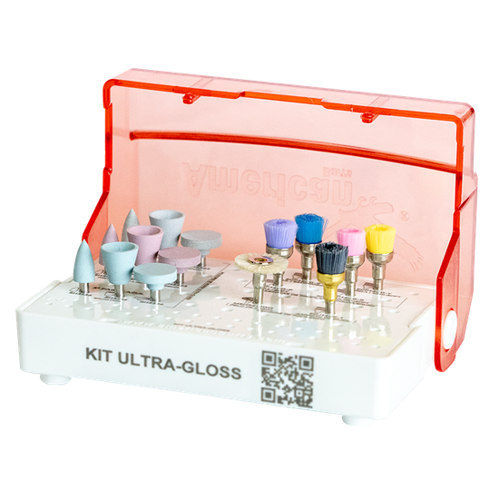 Kit p/ Polimento Resina Completo Ultra - Gloss