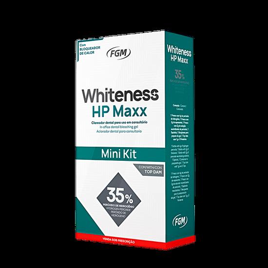 Kit Clareador Whiteness HP Maxx 35% - 1 Paciente