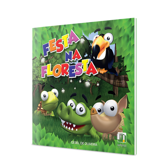 Livro Infantil Festa Na Floresta