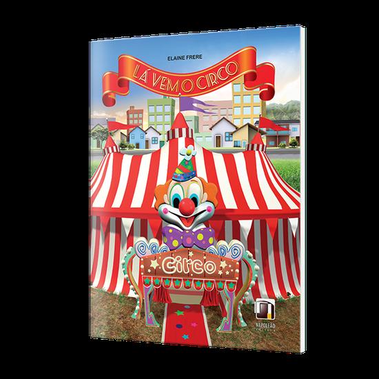 Livro Infantil Lá Vem o Circo