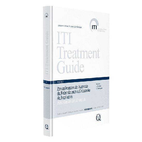 Livro Iti Treatment Guide Vol 7: Procedimentos de Aumento de Rebordo para a Colocação de Implantes