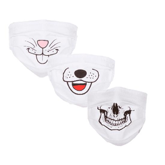 Máscara em Tecido - Sorriso