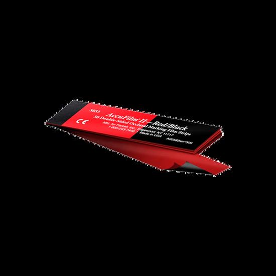 Papel Carbono Accufilm II Vermelho/Preto c/ 12 Un. 12 Micras