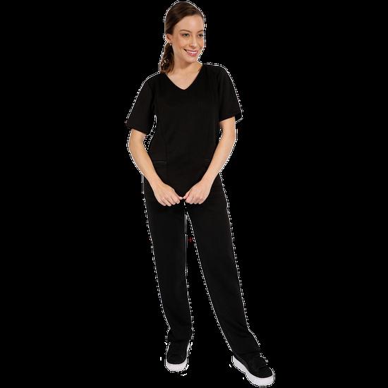 Pijama Cirúrgico Feminino Newprene - Preto