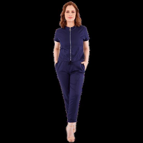 Pijama Cirúrgico Feminino Vision Azul Marinho