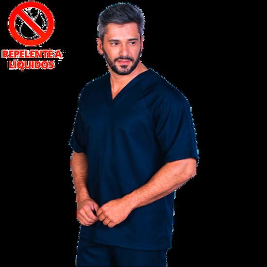 Pijama Cirúrgico Masculino Marrocos Marinho