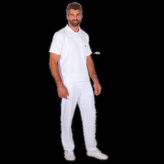 Pijama Cirúrgico Masculino Polo Mr. Kitsch Branco