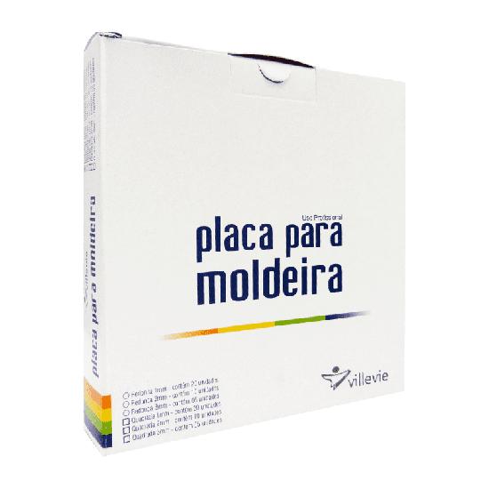 Placa p/ Moldeira EVA 2mm - Quadrada