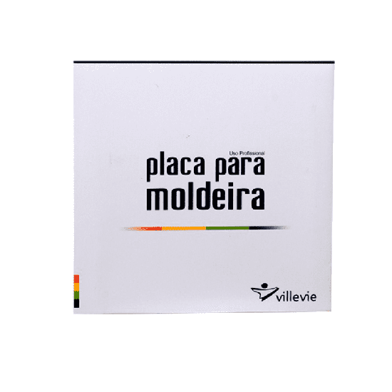 Placa p/ Moldeira EVA Soft 1mm - 10 Unid.