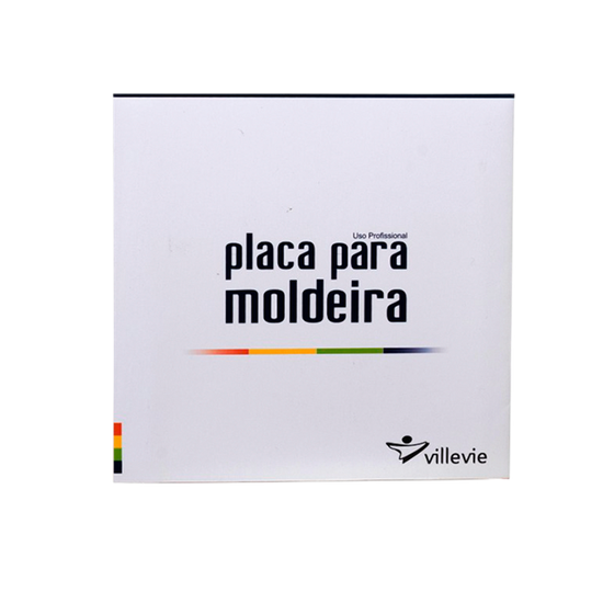 Placa p/ Moldeira EVA Soft 3mm - Quadrada