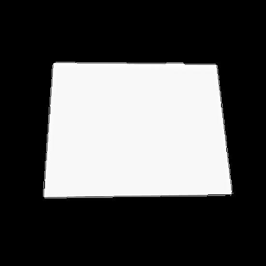 Placa p/ Moldeira Soft 3mm Branca - Quadrada