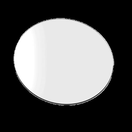 Placa p/ Moldeira Soft 3mm Branca - Redonda