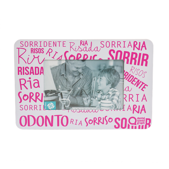 Porta Retrato - 10x15 - Palavras Rosa