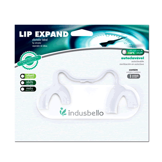 Afastador Lip Expand Infantil Autoclavável