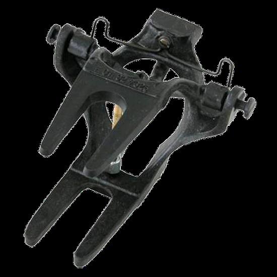 Articulador Tipo Garfo c/ Mola Nylon - Preto