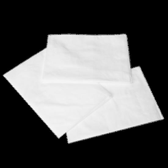 Avental TNT Manga Curta Branco