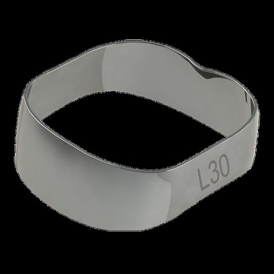Banda Universal p/ 1º e 2º Molares Inferior Direito/Esquerdo 30,0mm - 40.01.300