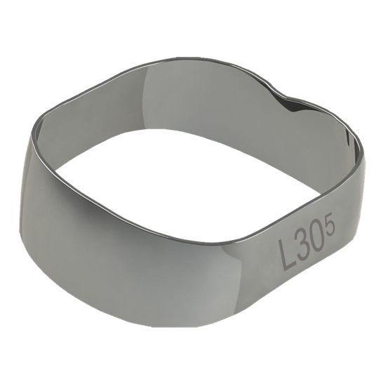 Banda Universal p/ 1º e 2º Molares Inferior Direito/Esquerdo 30,5mm - 40.01.305