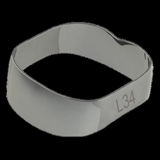 Banda Universal p/ 1º e 2º Molares Inferior Direito/Esquerdo 34,0mm - 40.01.340