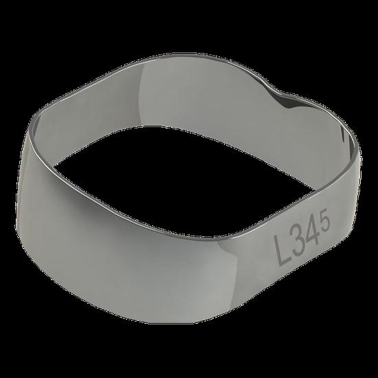 Banda Universal p/ 1º e 2º Molares Inferior Direito/Esquerdo 34,5mm - 40.01.345