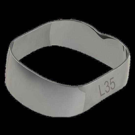 Banda Universal p/ 1º e 2º Molares Inferior Direito/Esquerdo 35,0mm - 40.01.350