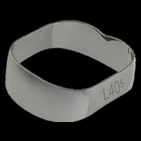 Banda Universal p/ 1º e 2º Molares Inferior Direito/Esquerdo 40,5mm - 40.01.405