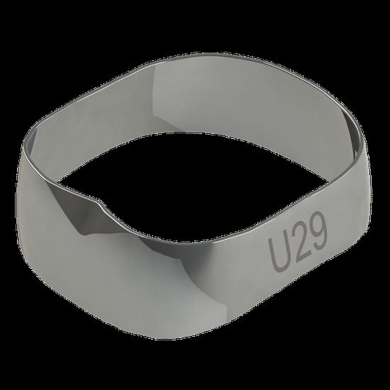 Banda Universal p/ 1º e 2º Molares Superior Direito/Esquerdo 29,0mm - 40.02.290