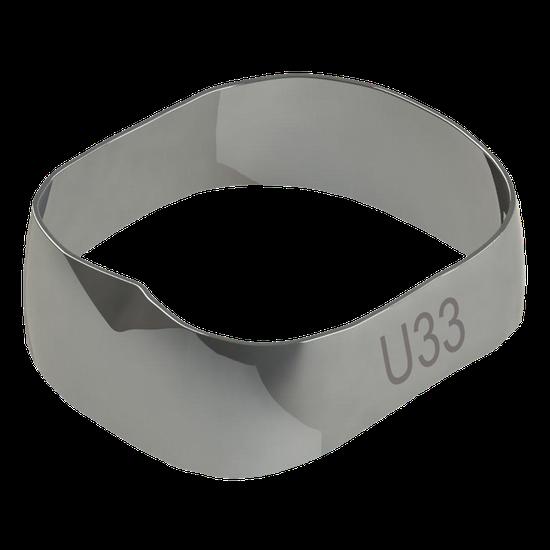 Banda Universal p/ 1º e 2º Molares Superior Direito/Esquerdo 33,0mm - 40.02.330