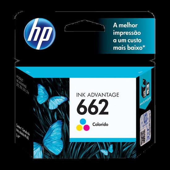 Cartucho Original Hp 662 Colorido Ink Advantage