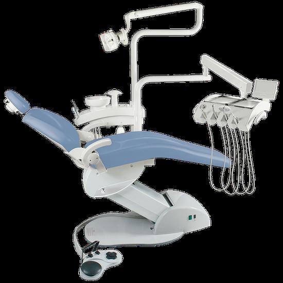 Consultório Odontológico Unik K4 - Linha Metálica - Azul Áquila