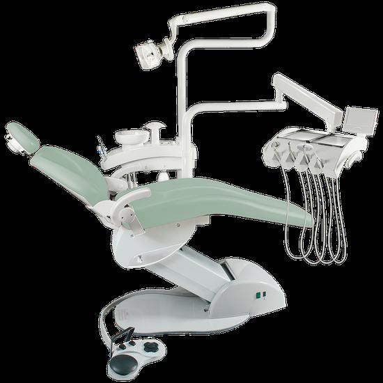 Consultório Odontológico Unik K4 - Linha Metálica - Verde Báltico