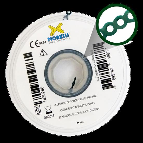 Elástico Corrente Verde Musgo Curto - 60.05.107